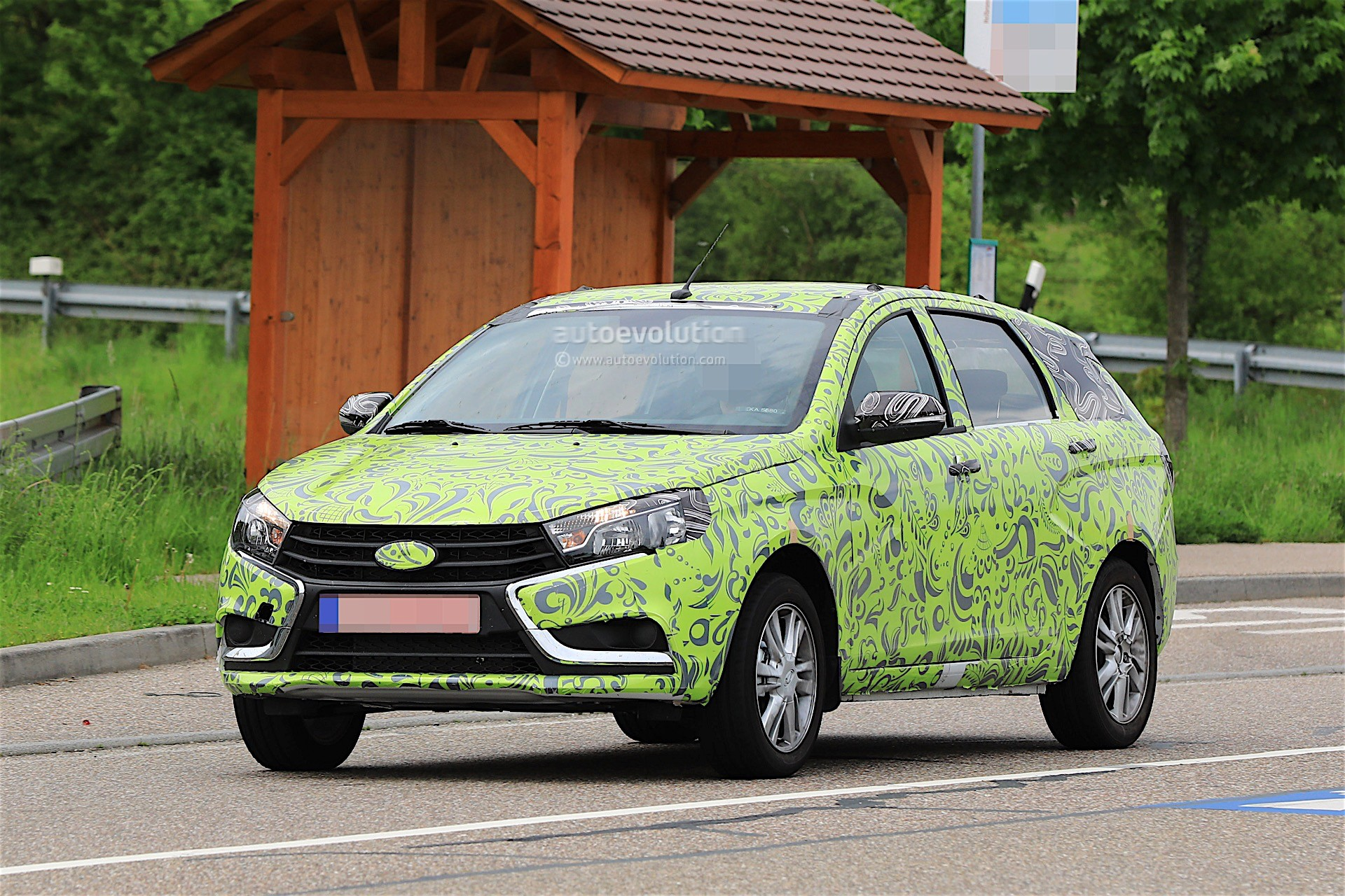 Lada Vesta Combi Spied For The First Time