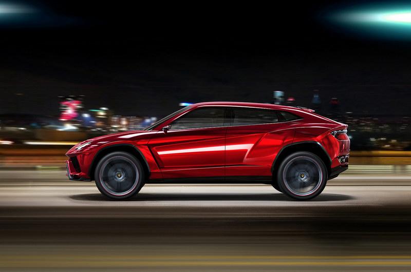 ... Lamborghini Urus SUV ...
