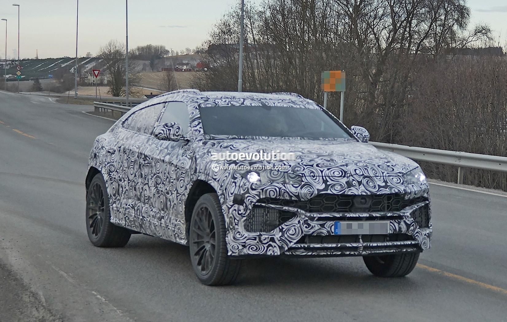 2018 Lamborghini Urus Pre Production Prototype Looks Famished Autoevolution