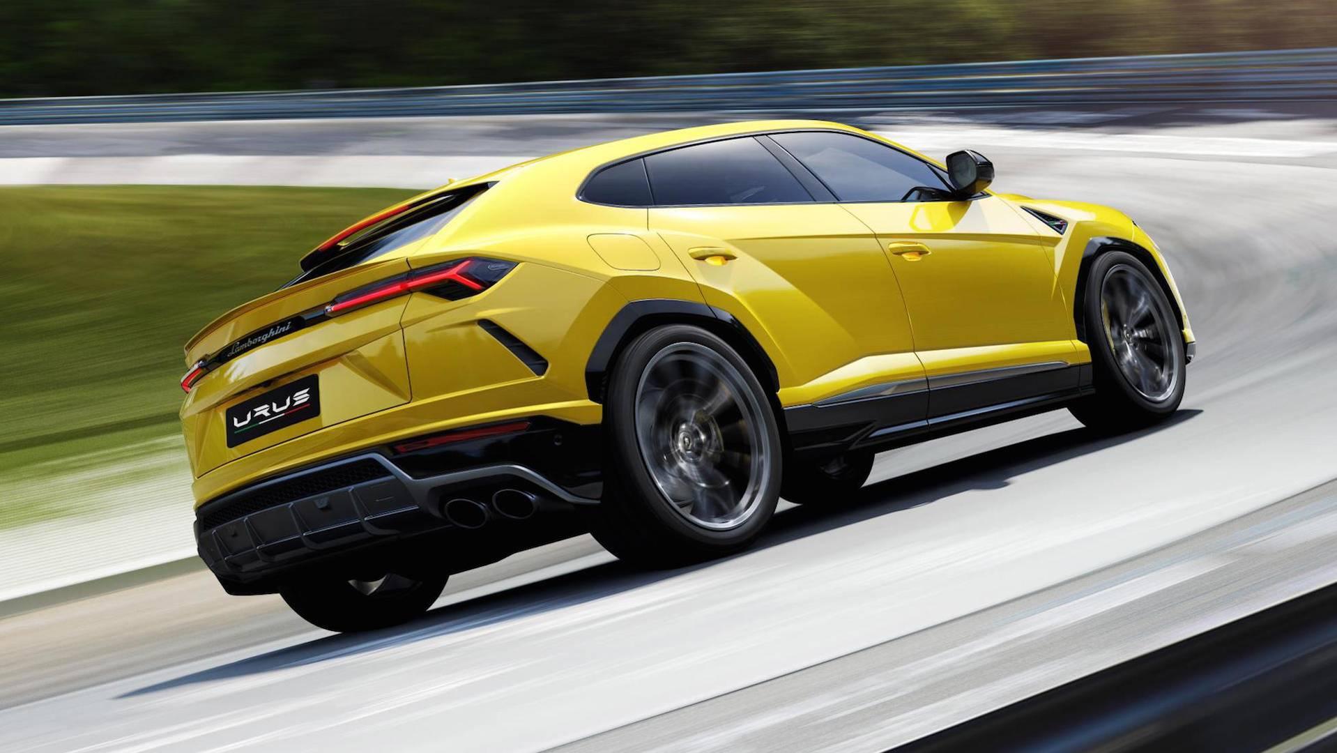 2018 Lamborghini Urus Shows Porsche 4 0 Liter Twin Turbo