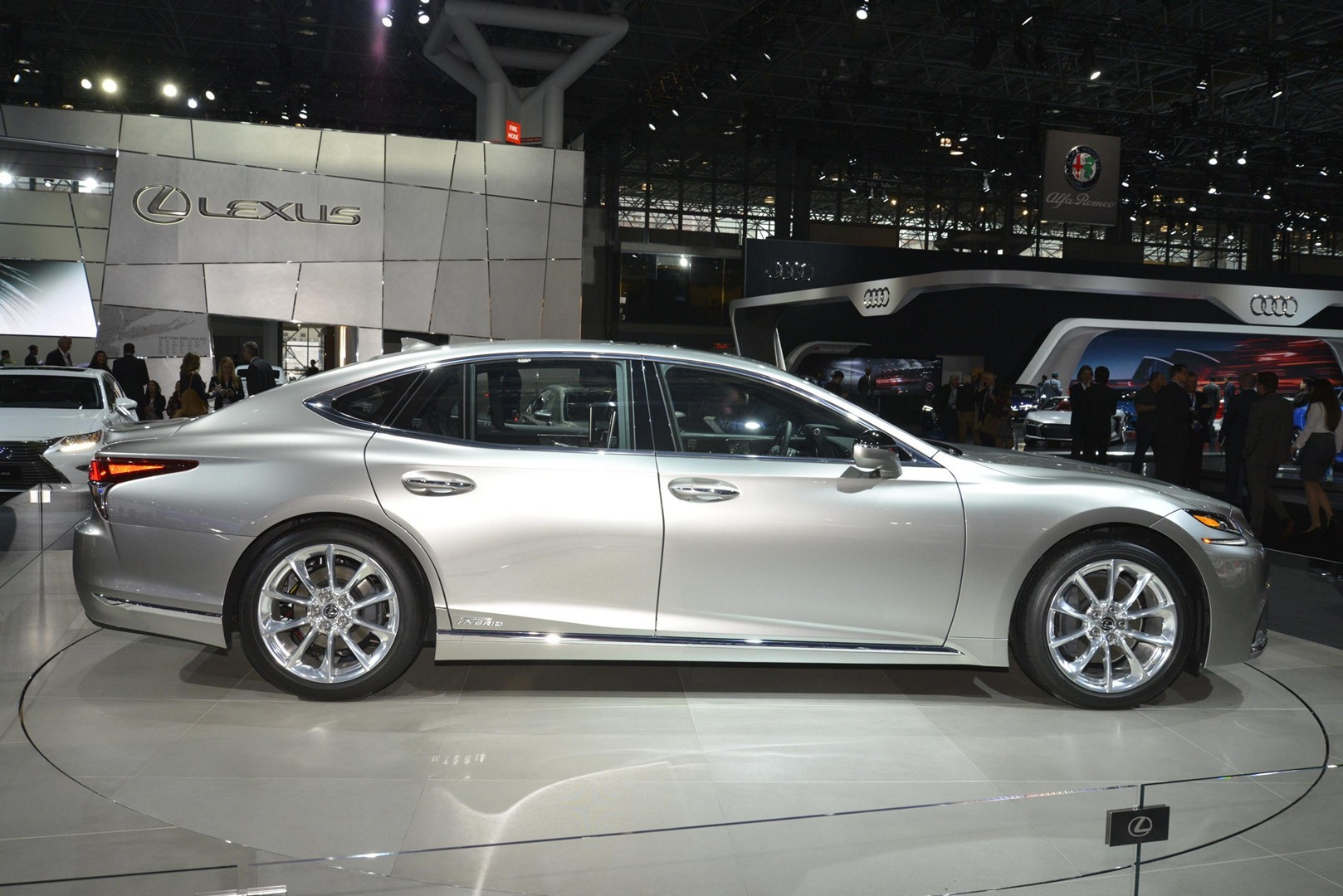 2018 Lexus LS F-Sport Joins LS 500h in New York ...