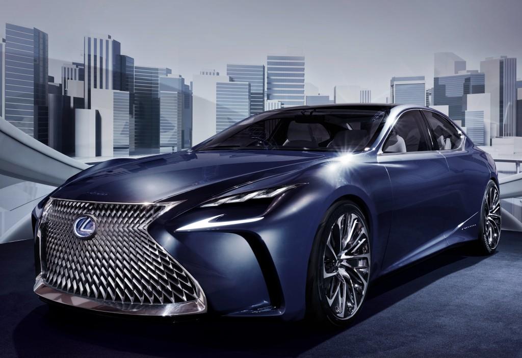 2018 Lexus LS Might Get Turbo Engine - autoevolution