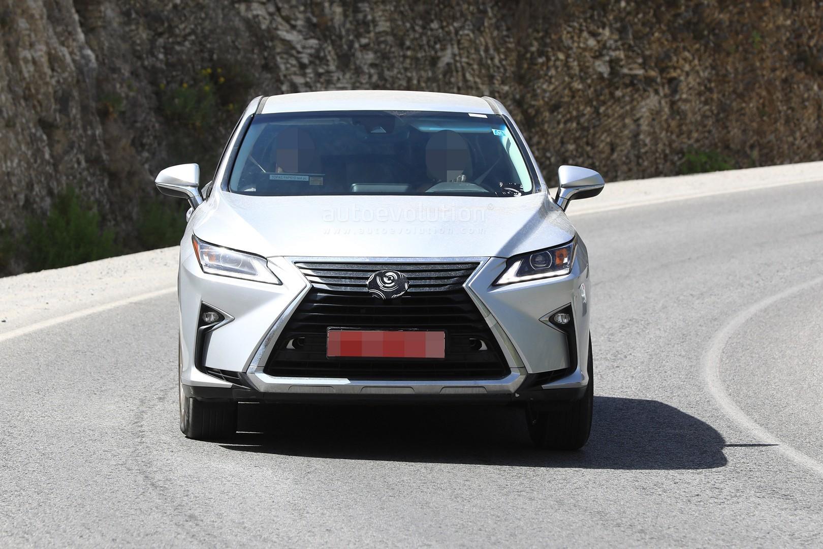 2018 lexus rx 350l. brilliant 350l 2018 lexus rx facelift  in lexus rx 350l