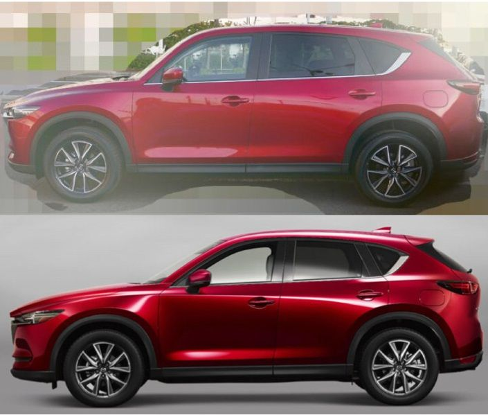 2018 mazda cx 8 amateurishly photoshopped from an image of. Black Bedroom Furniture Sets. Home Design Ideas