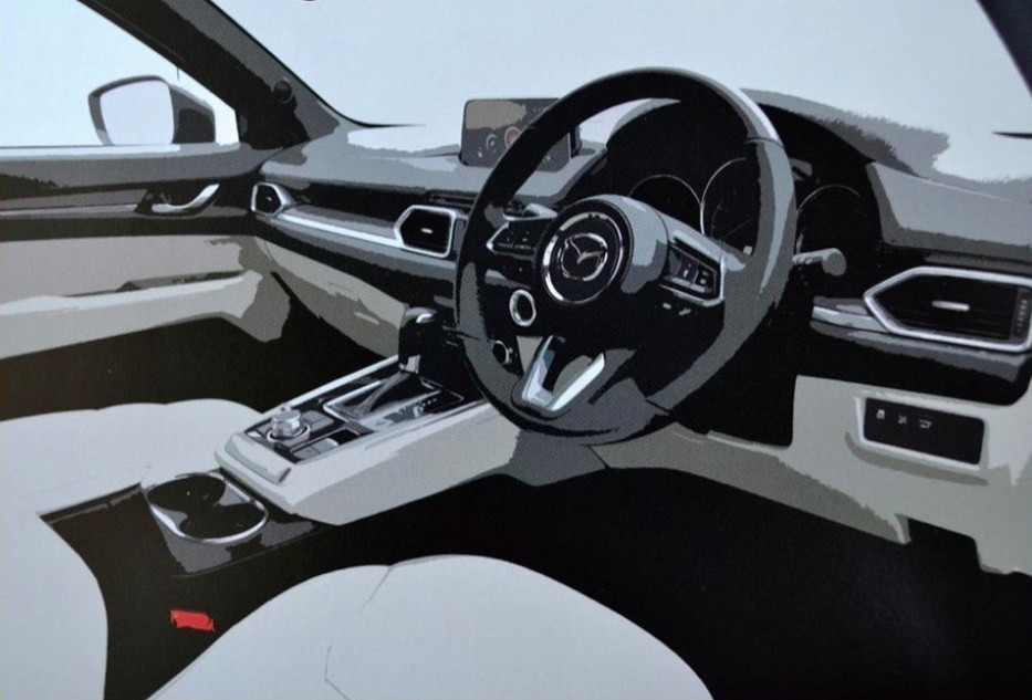 2018 Mazda Cx 8 Looks Painfully Predictable In Leaked Brochure