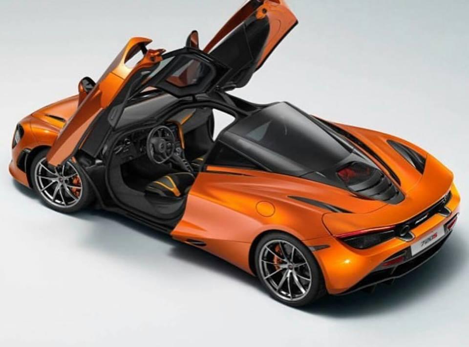 2018 McLaren 720S Finally Leaks Out, Door Mechanism Looks ...