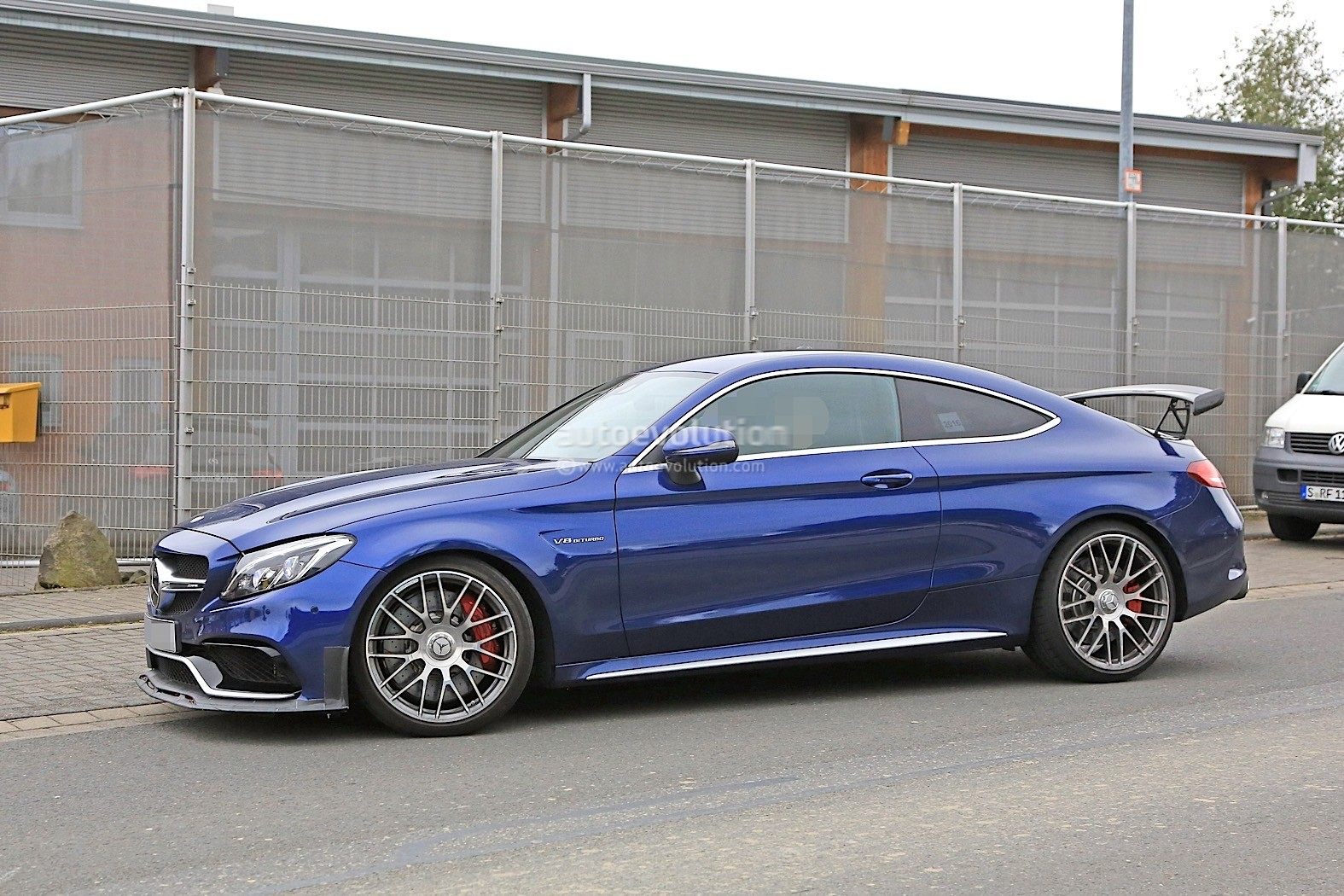2018 Mercedes-AMG C63 R Coupe Comes to Crash the BMW M4 GTS Party ...
