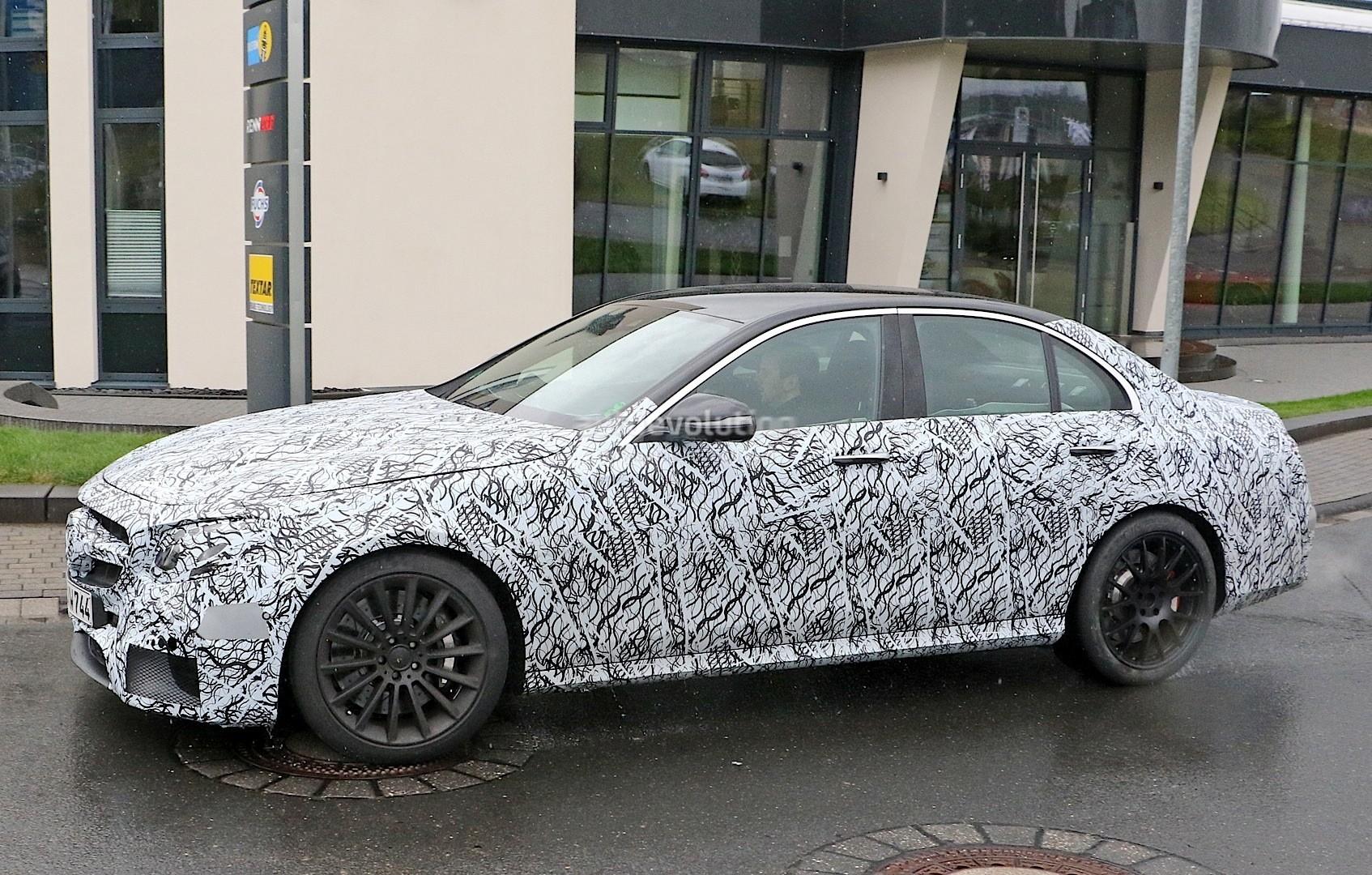 2017 Mercedes-AMG E63 Prototype First Spy Photos: Will ...