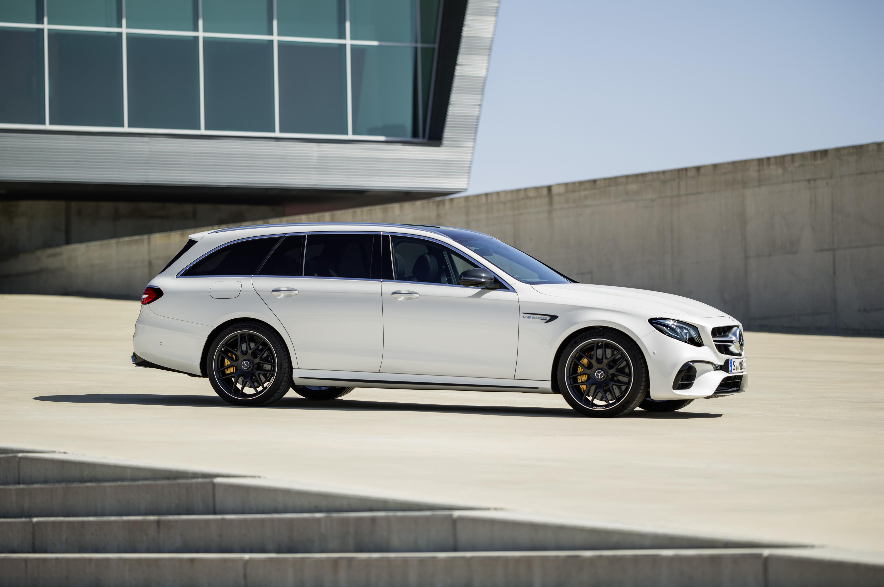 2018 Mercedes-AMG E63 S 4Matic+ T-Modell Is The Maddest ...