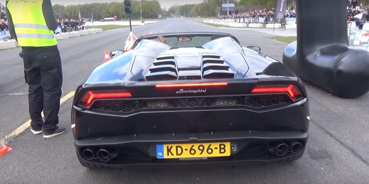 2018 lamborghini spyder. Unique 2018 2018 MercedesAMG E63 Vs Lamborghini Huracan Spyder Drag Race For Lamborghini Spyder