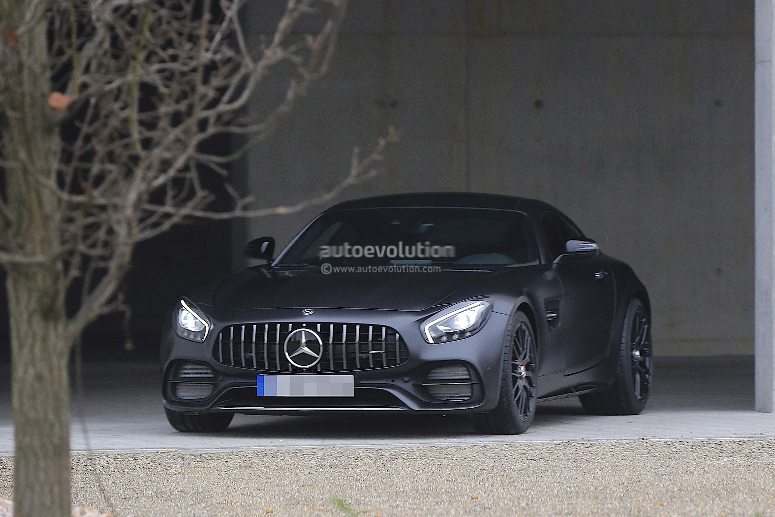 Anniversary 2018 Mercedes-AMG GT C Edition 50 Completely Uncovered ...