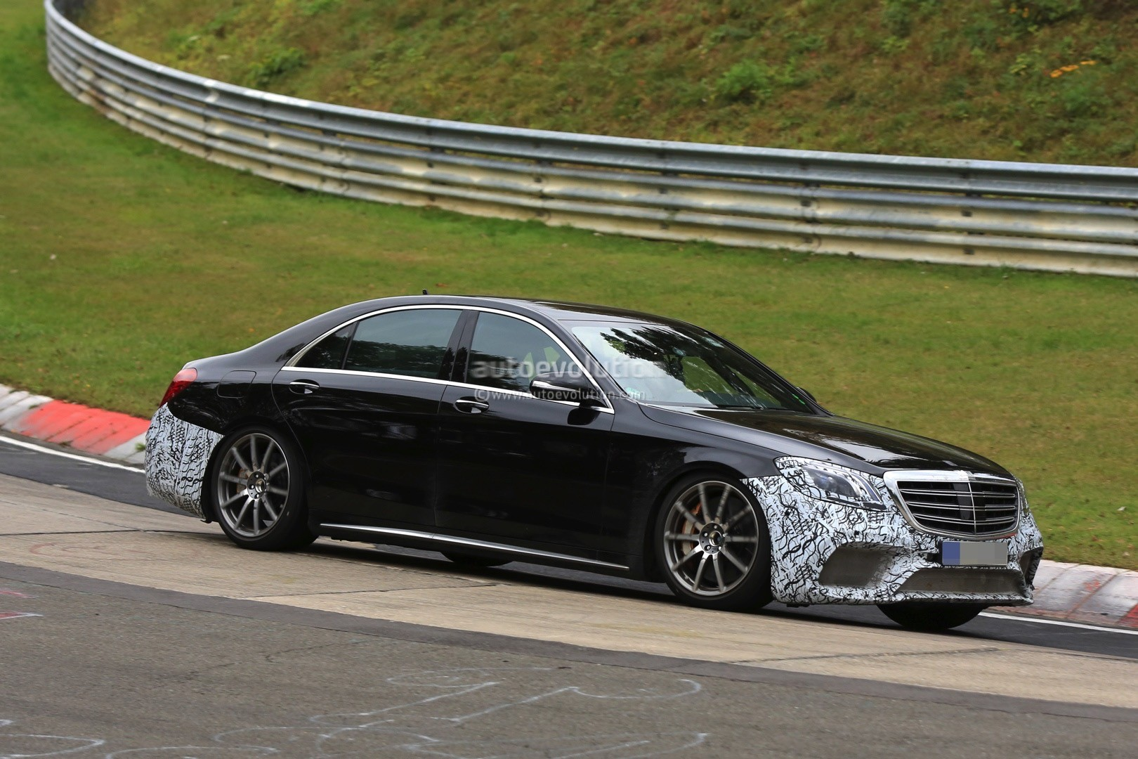 2018 mercedes-amg s63 4matic  lang spied with full roll cage at the nurburgring