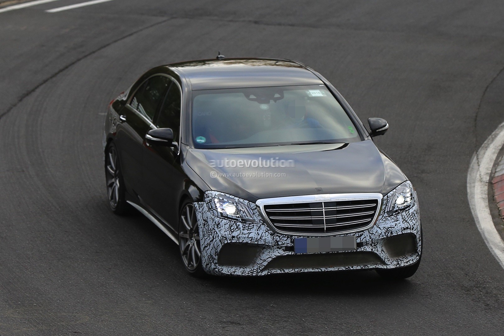 2018 mercedes amg s63 4matic lang spied with full roll