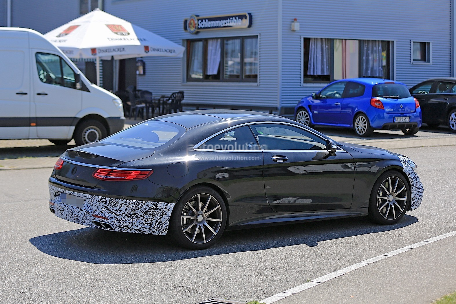 2018 Mercedes-AMG S63 Coupe Facelift Caught Testing For ...