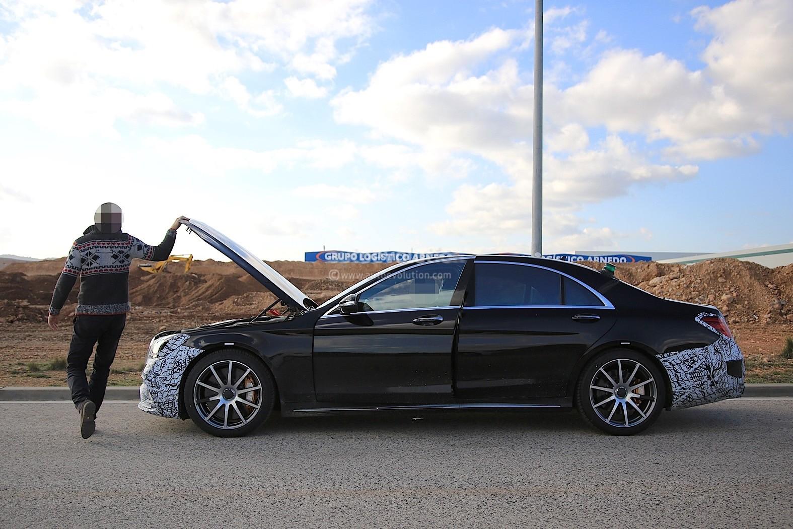 2018 Mercedes-AMG S63 Prototype Breaks Down, Shows us ...