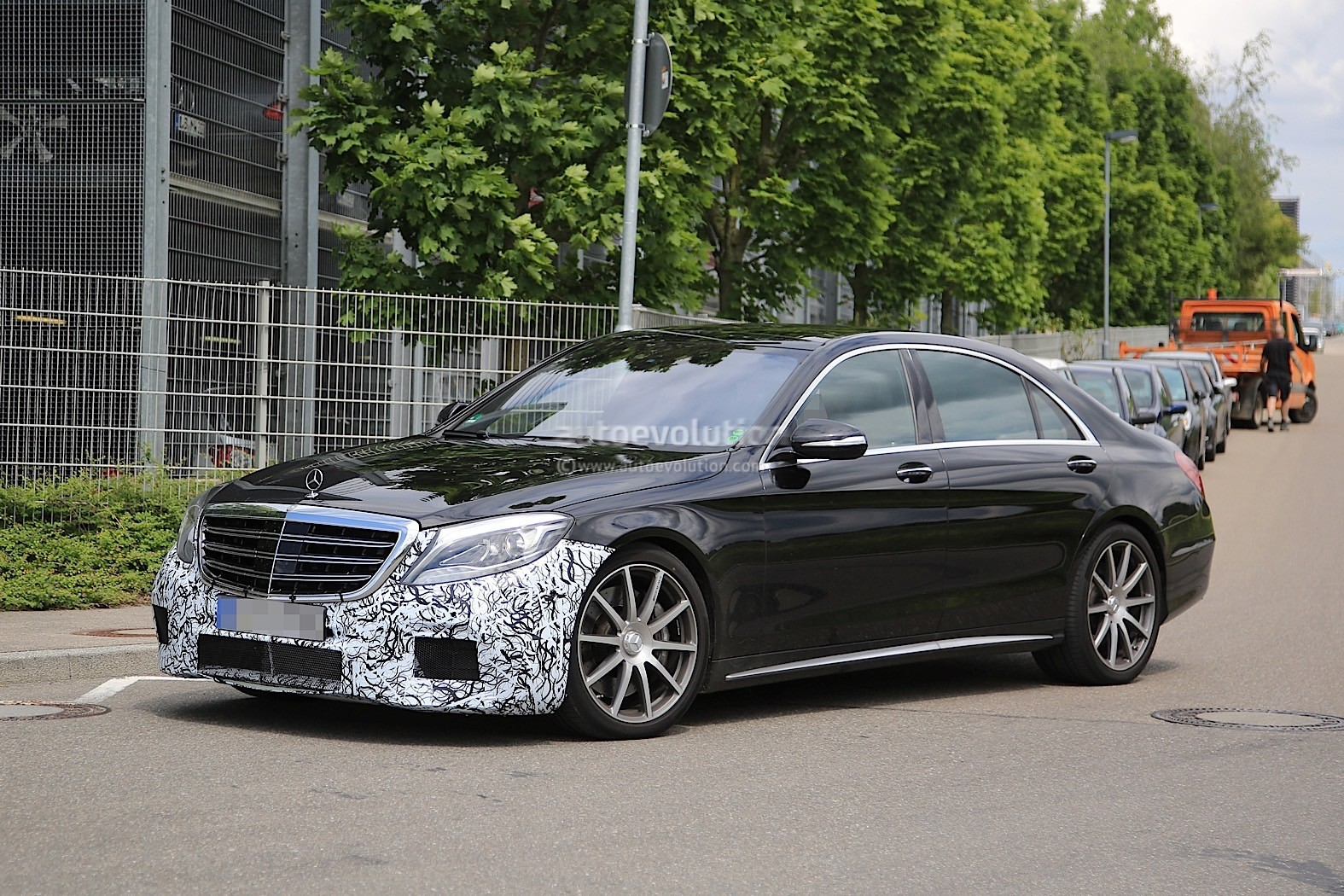 2018 mercedes amg s63 sedan starts testing with new engine for 2018 mercedes benz amg