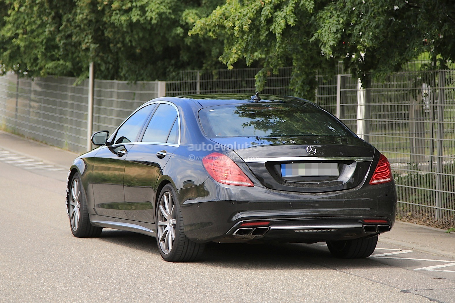 2018 mercedes amg s63 sedan starts testing with new engine for Mercedes benz 2018 models