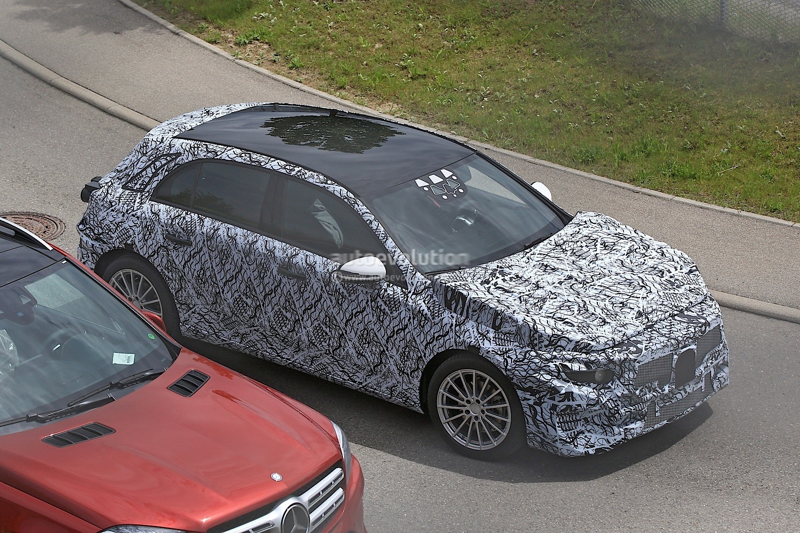 2018 Mercedes-Benz A-Class Prototype Shows Up For Testing ...
