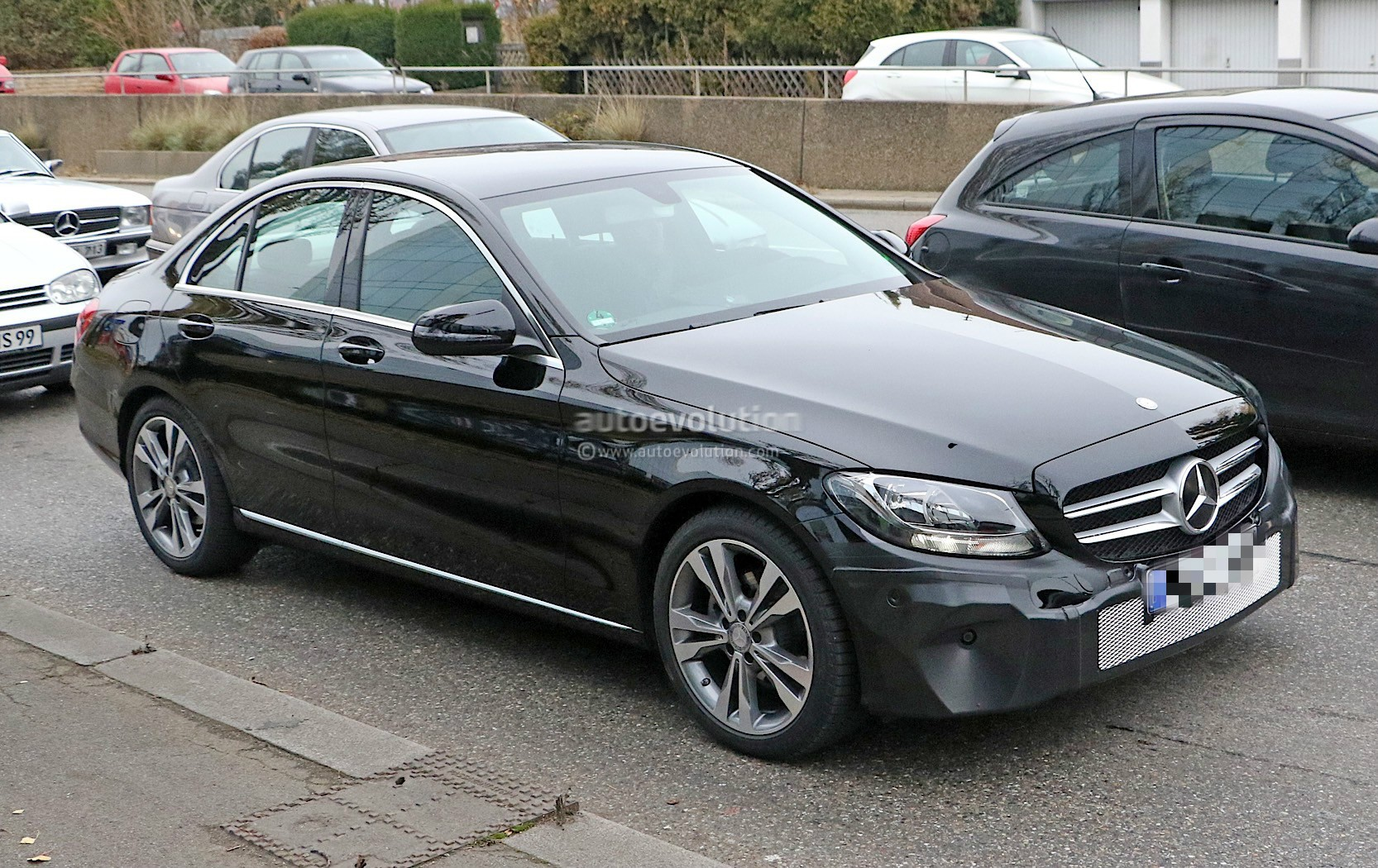 2018 mercedes benz c class facelift shows interior for the for Mercedes benz c classes