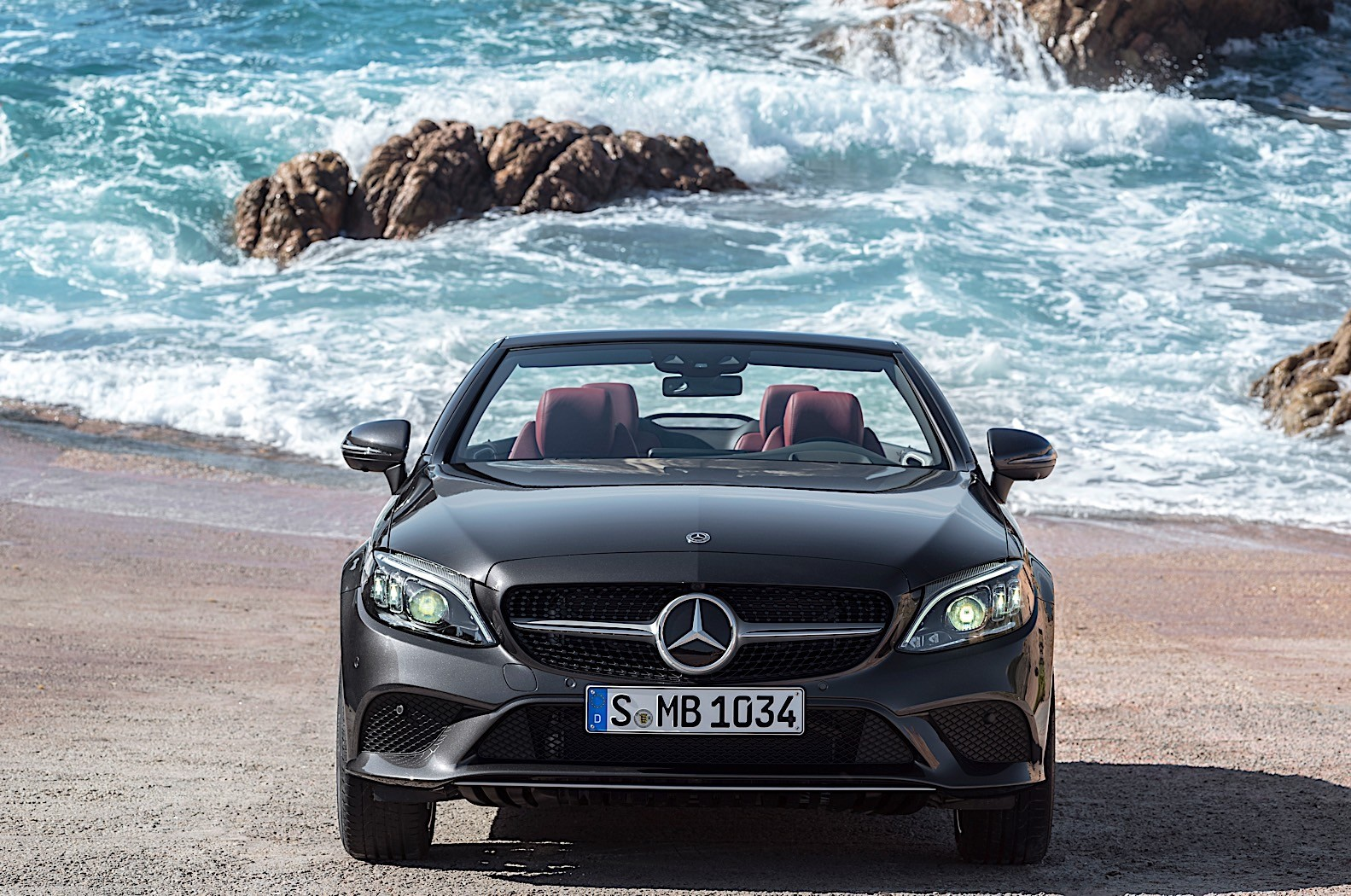 2018 mercedes benz c class facelift starts production in germany autoevolution. Black Bedroom Furniture Sets. Home Design Ideas