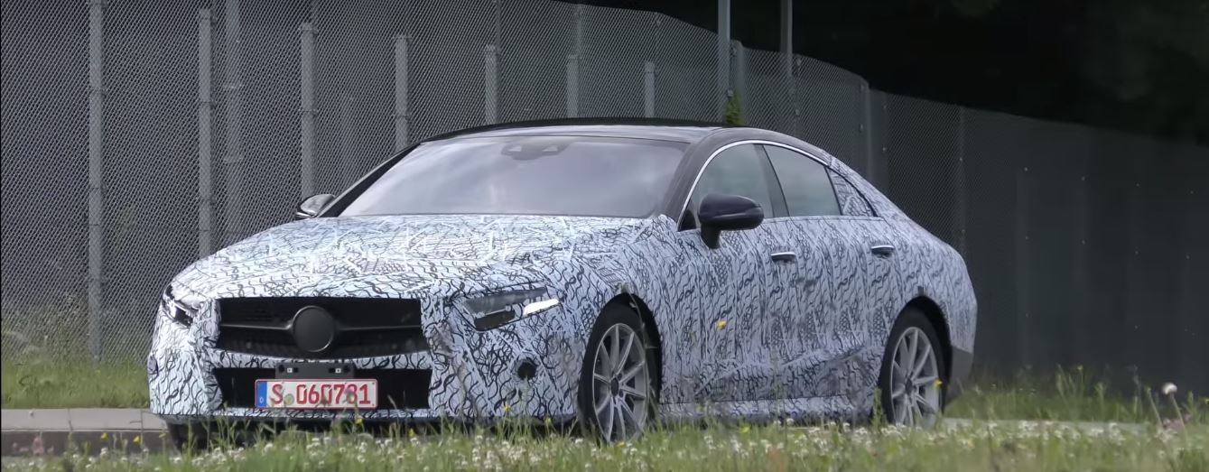 2019 mercedes benz cle cls spied shows banana shape for Mercedes benz cle