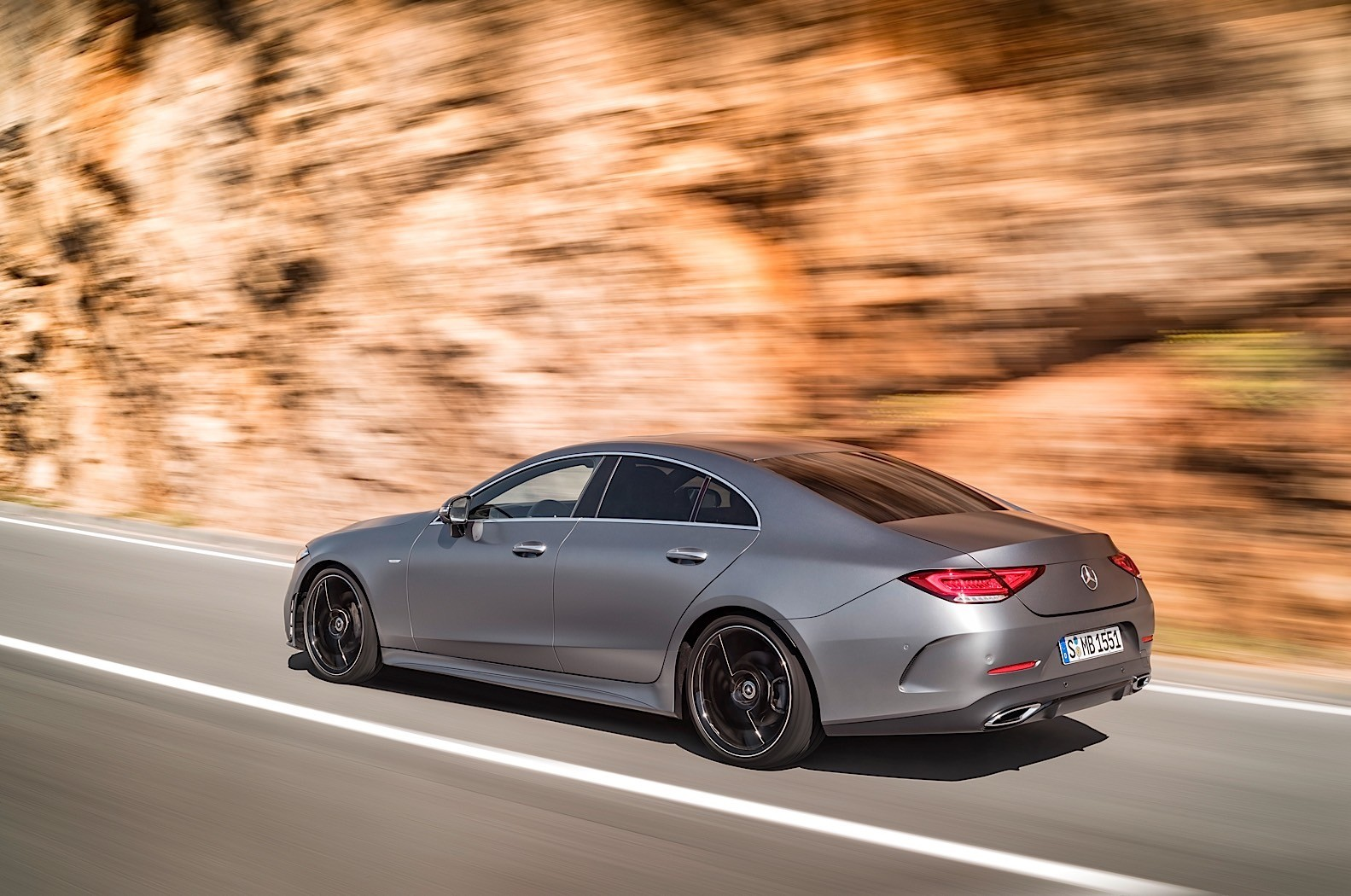 2018 mercedes benz cls c257 gets a polarizing rear end for The latest mercedes benz