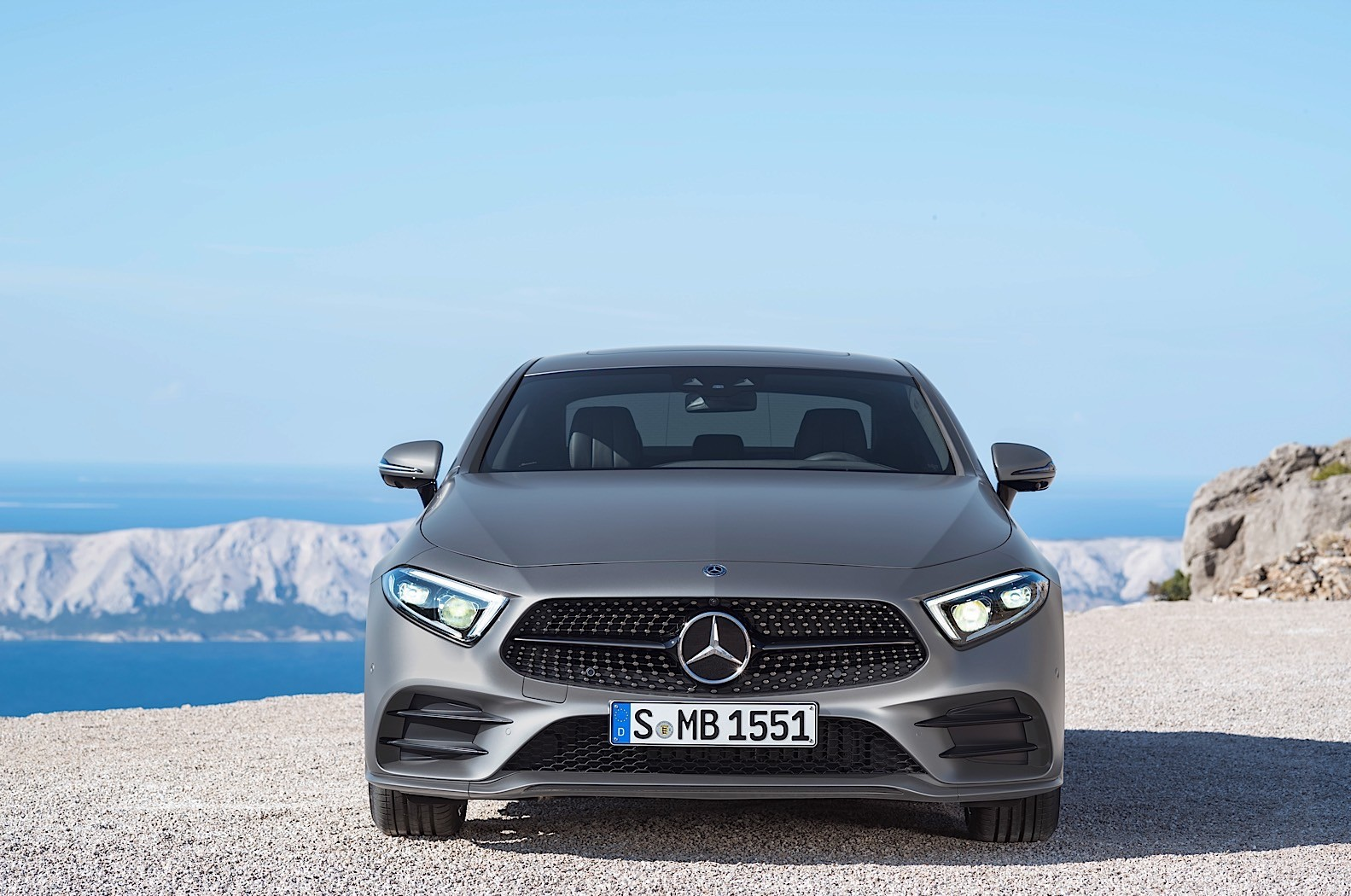 2018 mercedes benz cls c257 gets a polarizing rear end for Mercedes benz name