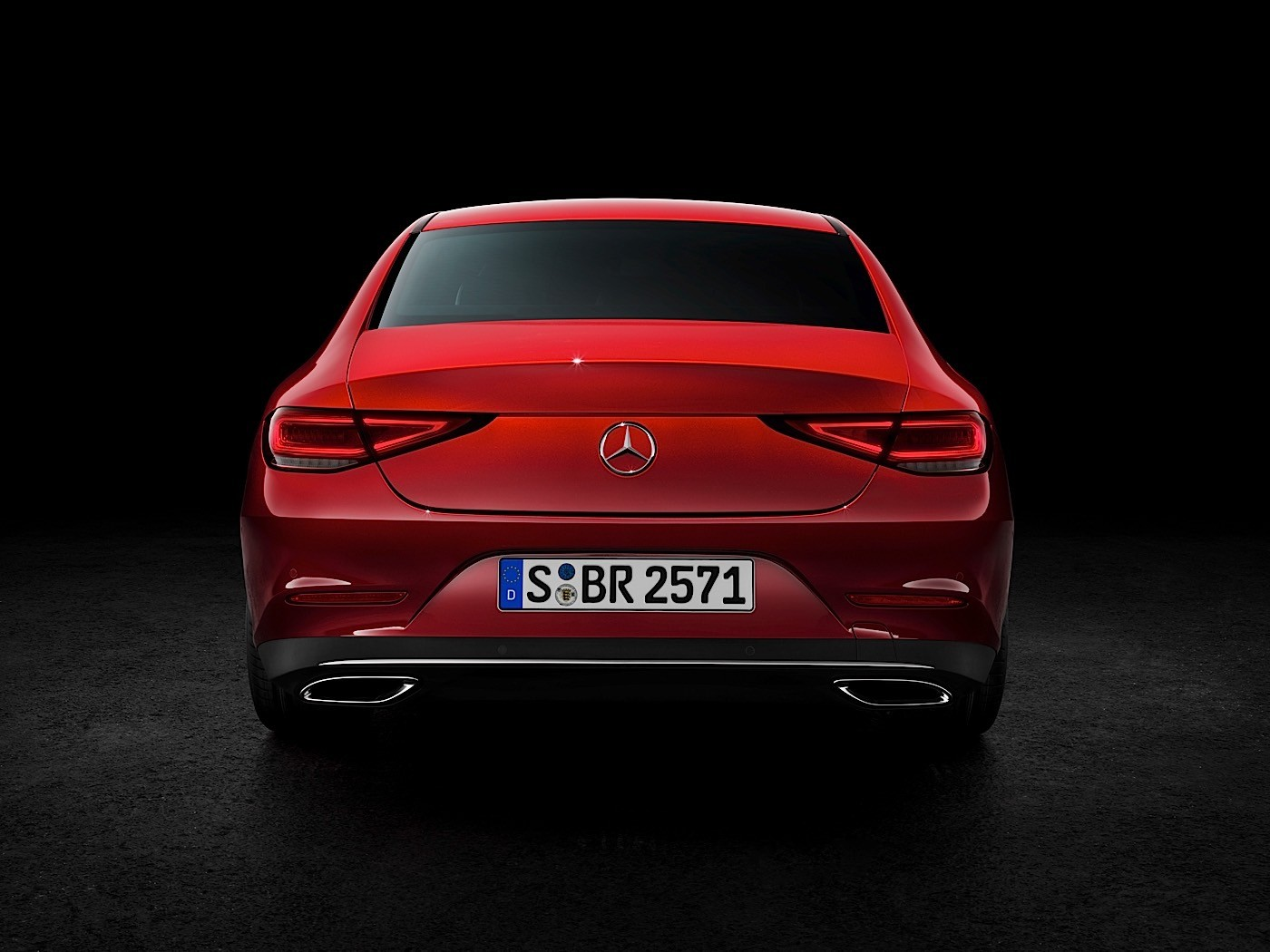 2018 mercedes benz cls c257 gets a polarizing rear end. Black Bedroom Furniture Sets. Home Design Ideas