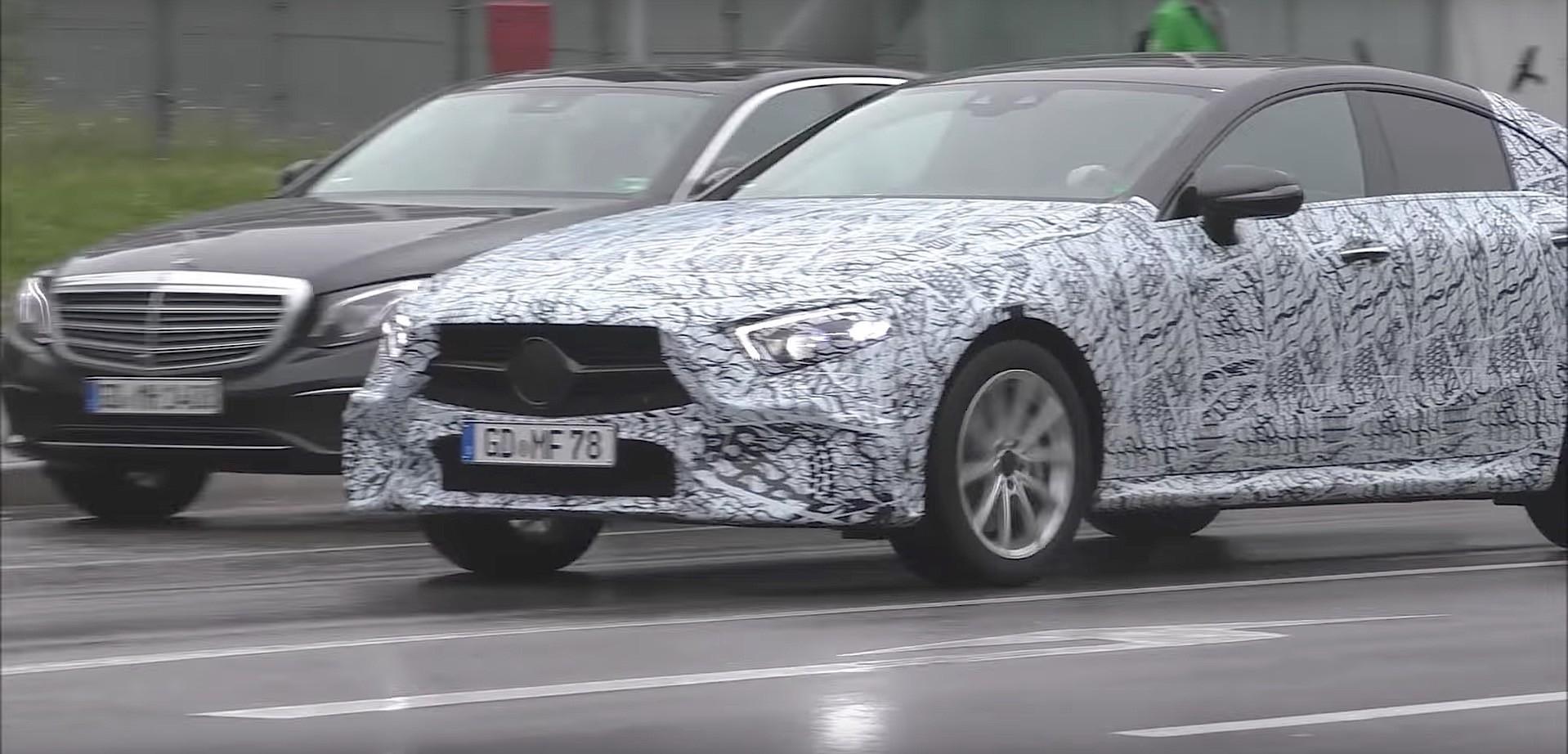 2018 Mercedes Benz Cls Cle Prototype