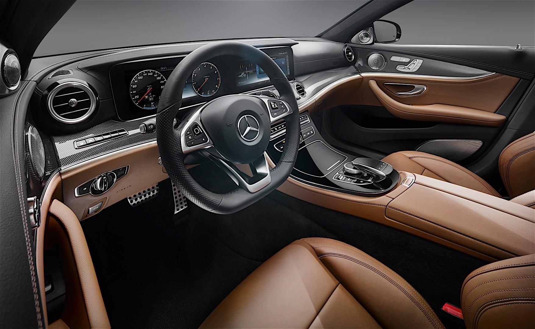 2017 Mercedes-Benz E-Class Interior Officially Unveiled ...