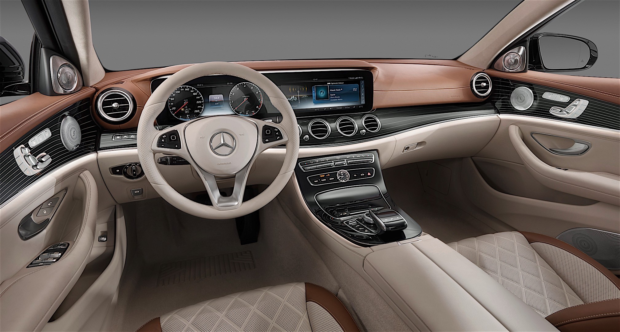 2017 Mercedes Benz E Class Interior Officially Unveiled Will Rival The S Class Photo Gallery 102722 on e350 convertible