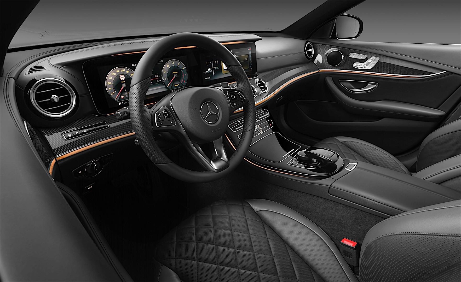 2017 mercedes benz e class interior officially unveiled for Mercedes benz e class interior