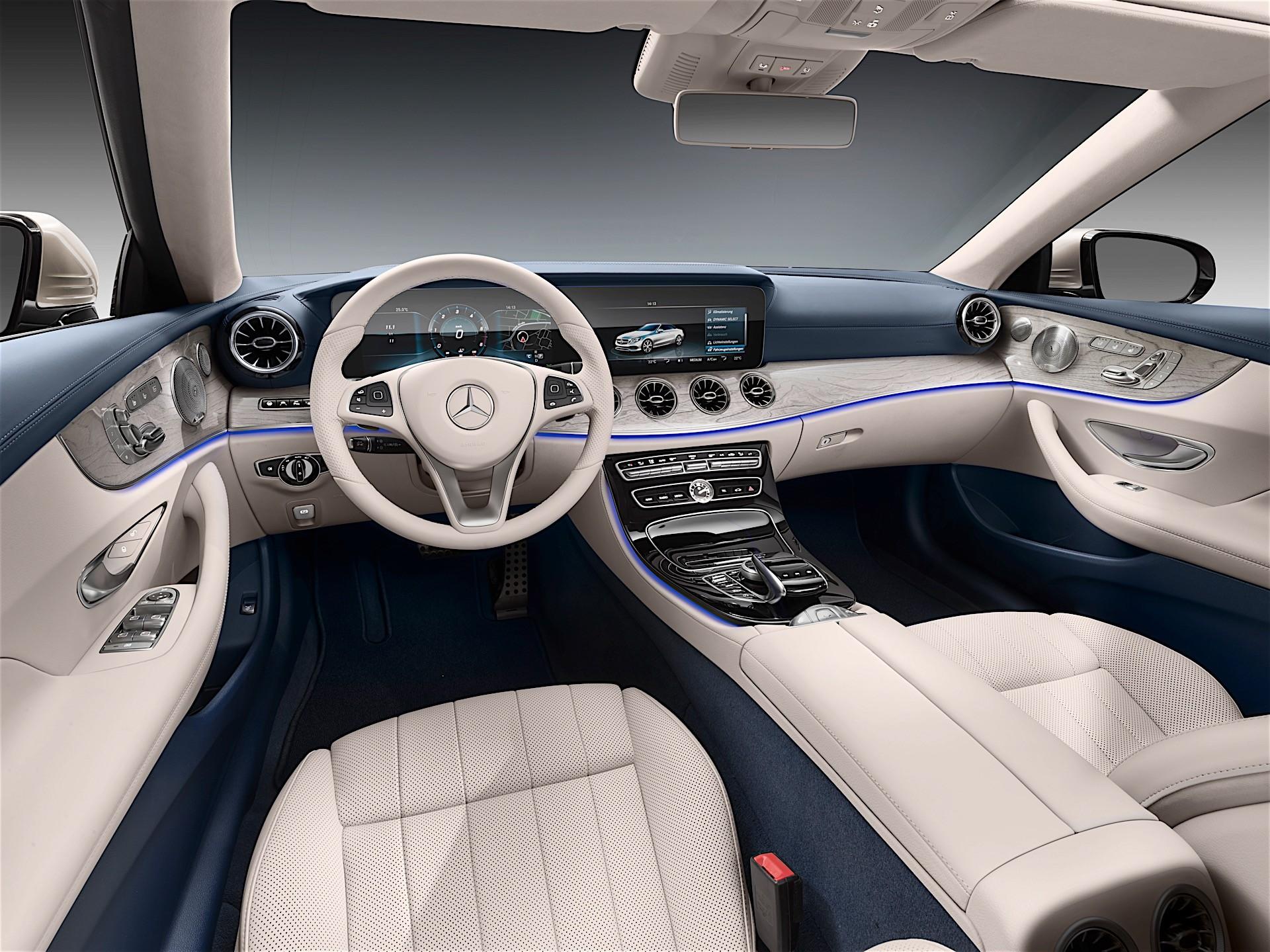 2018 mercedes benz e350 coupe and cabrio introduce mild hybrid m 264 engine autoevolution. Black Bedroom Furniture Sets. Home Design Ideas