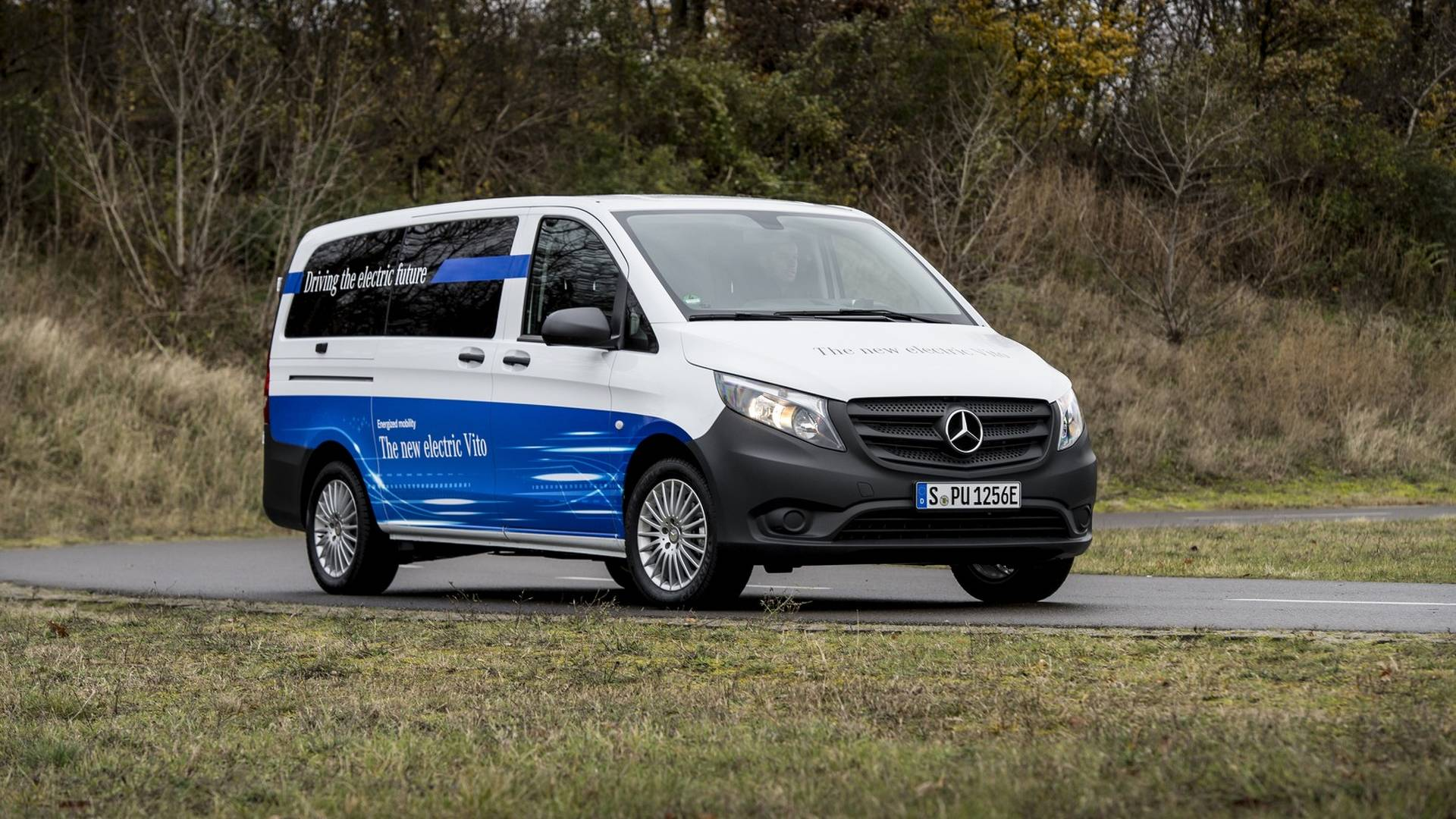 2018 mercedes benz evito is a huge upgrade from the vito e cell autoevolution. Black Bedroom Furniture Sets. Home Design Ideas