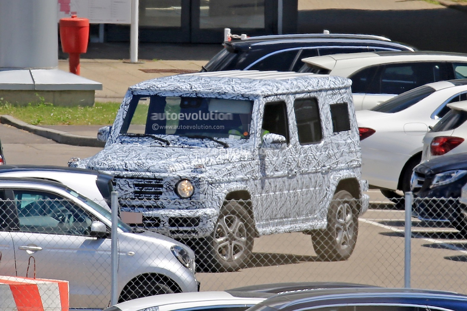 2018 Mercedes Benz G Class W464 Interior Design Spied Autoevolution