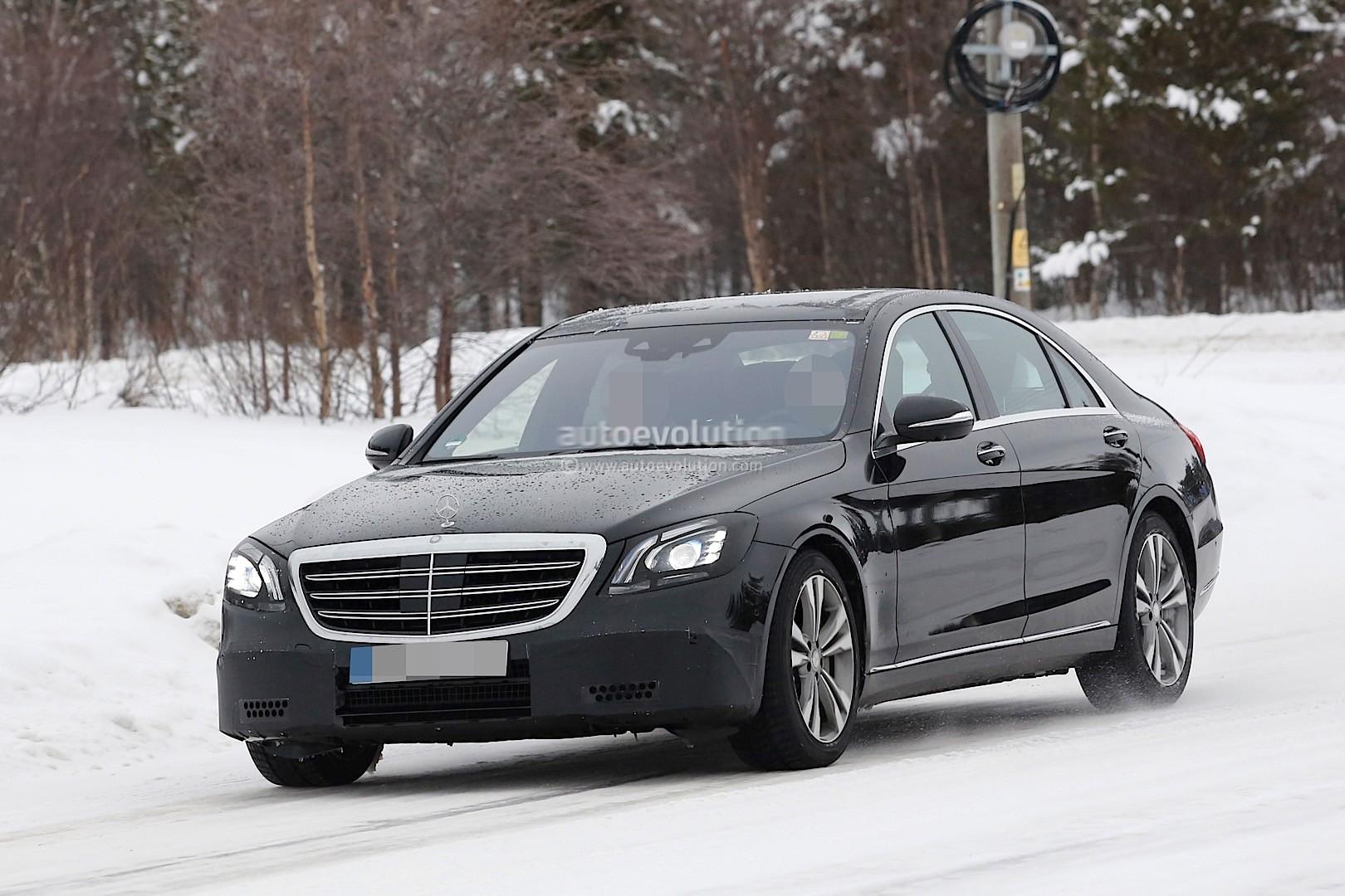 2018 Mercedes-Benz S-Class Facelift Gets a New Detailed ...
