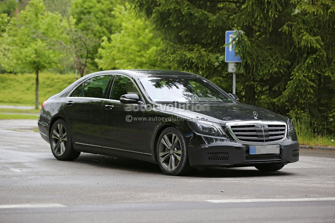 2018 mercedes benz s class facelift moves closer to for 2018 mercedes benz s550