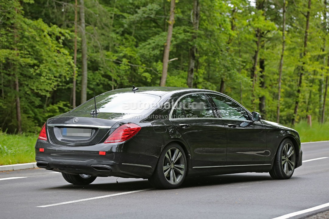 2018 mercedes benz s class facelift moves closer to production   autoevolution