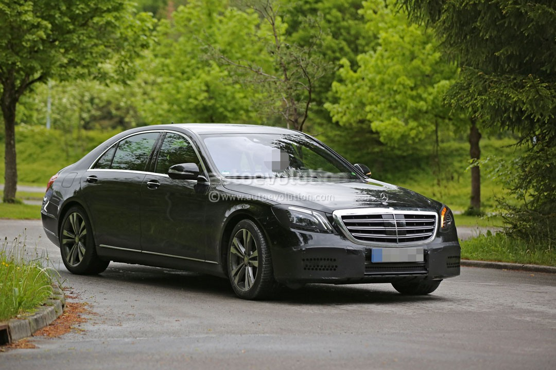2018 mercedes benz s class facelift reveals its slightly for 2018 mercedes benz s550