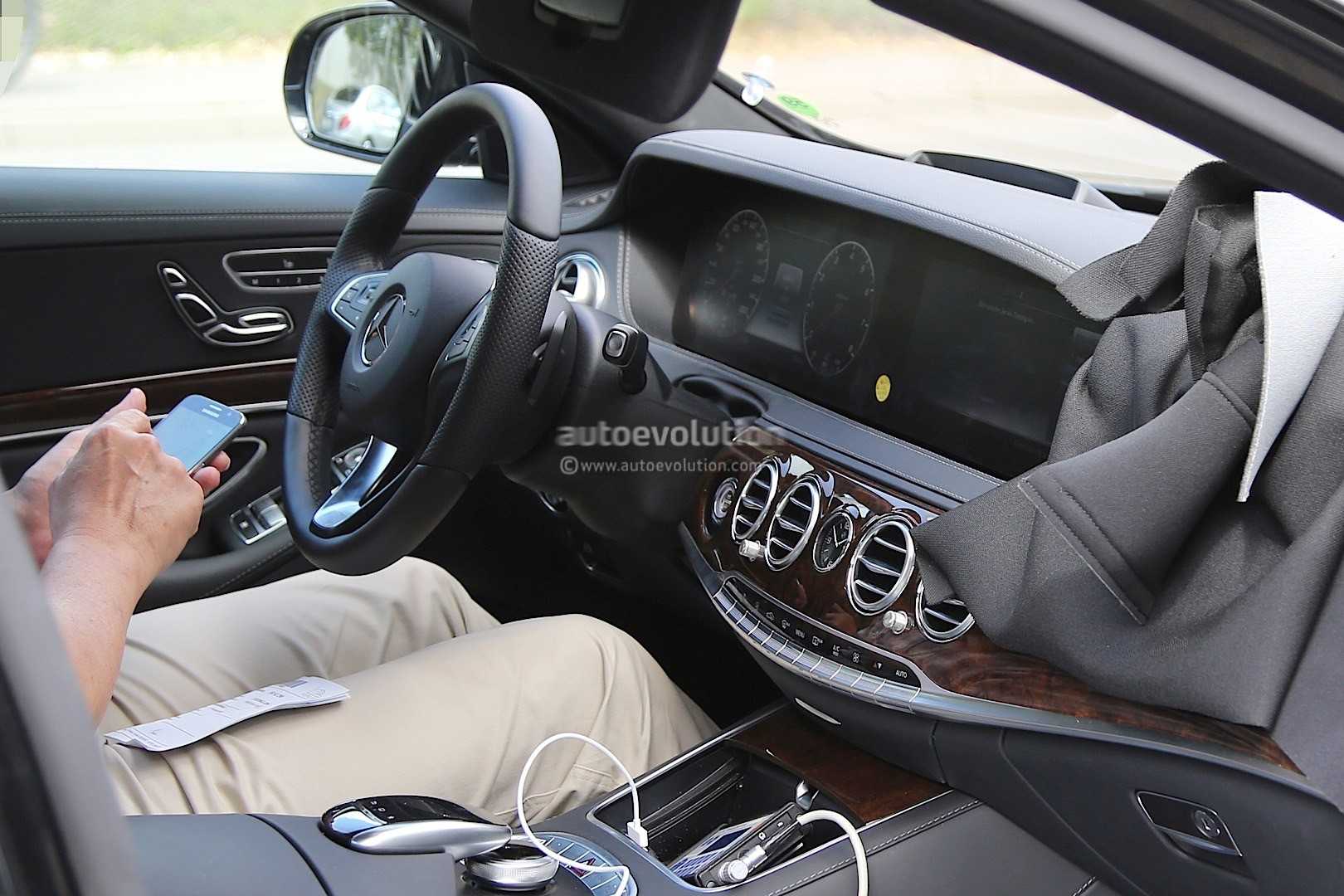 2018 Mercedes-Benz S-Class Facelift Spied for the First ...