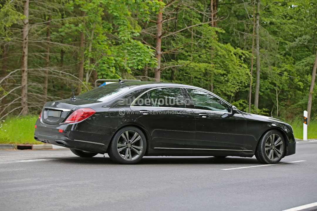 2018 mercedes benz s class facelift to be revealed in april autoevolution. Black Bedroom Furniture Sets. Home Design Ideas