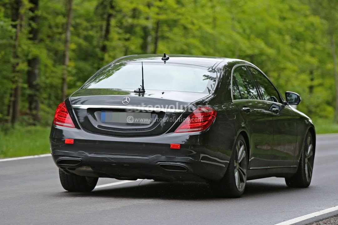 2018 mercedes benz s class facelift to be revealed in for Mercedes benz new s class 2018