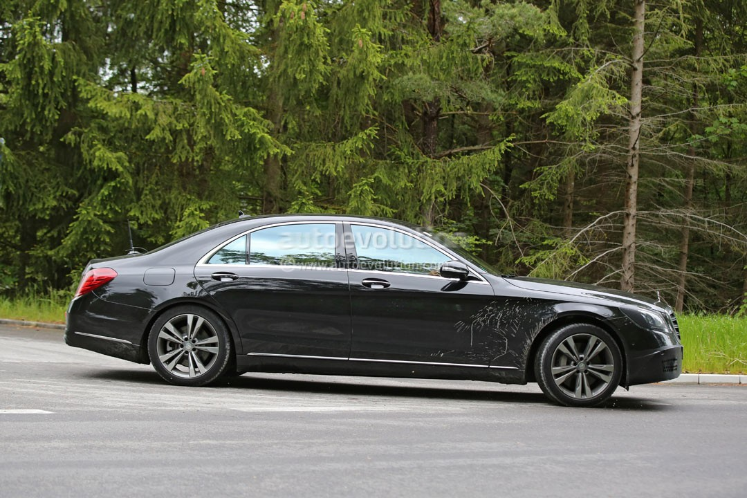 2018 mercedes benz s class facelift to be revealed in for Mercedes benz be