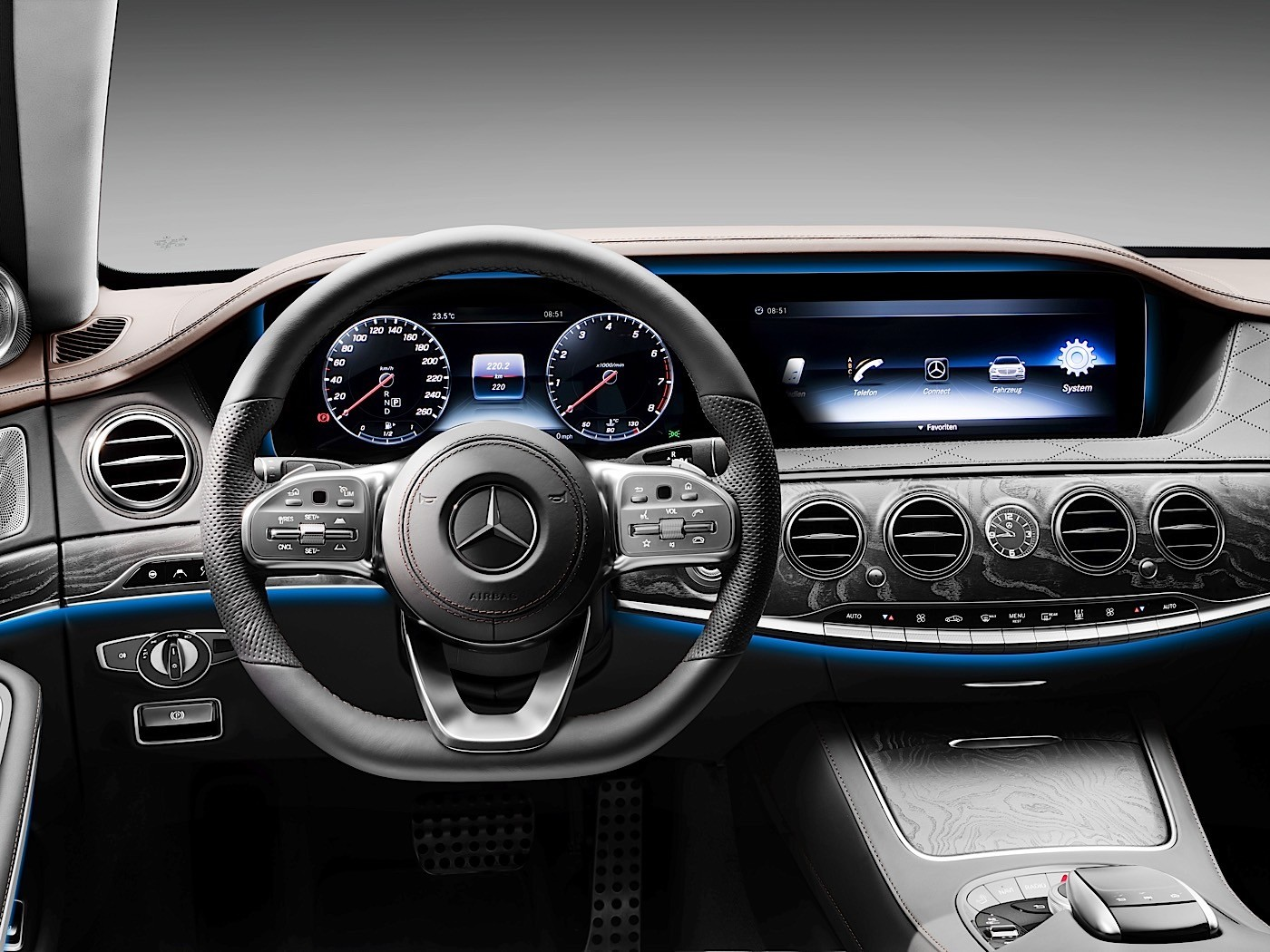 2018 Mercedes-Benz S-Class W222 Facelift Brings Back The ...