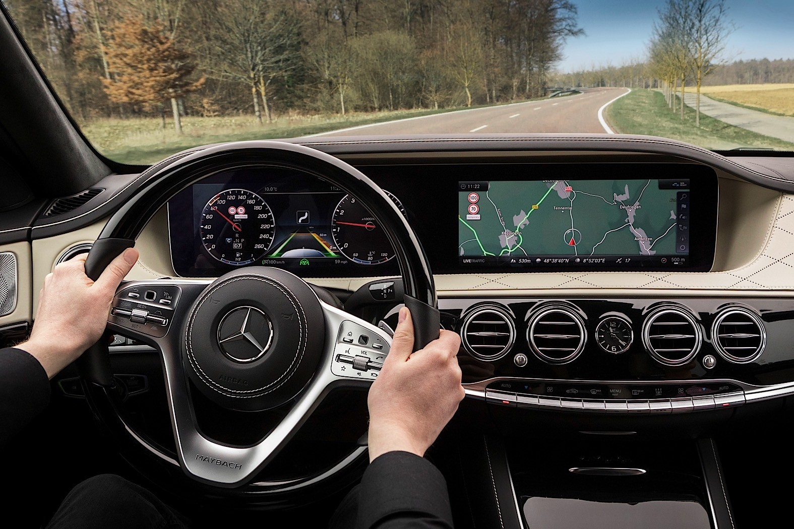 2018 Mercedes Benz S Class W222 Facelift Dashboard