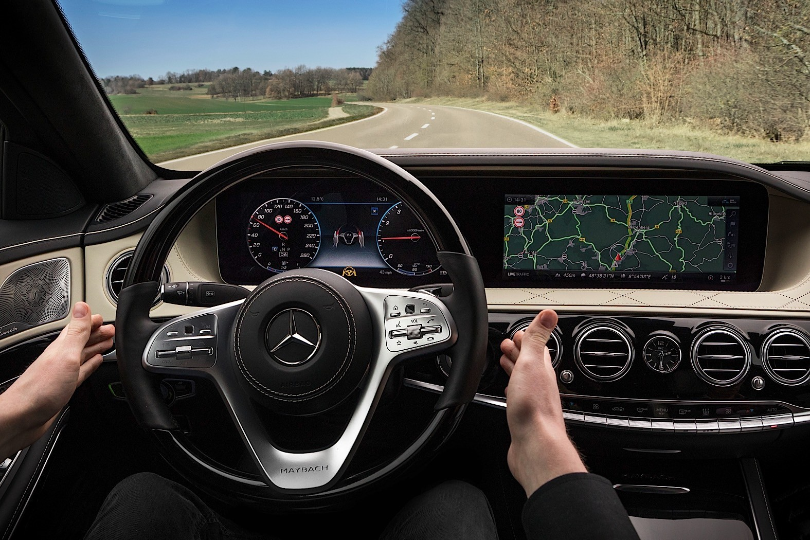 2016 - [Mercedes-Benz] Classe S restylée - Page 3 2018-mercedes-benz-s-class-w222-facelift-dashboard-officially-unveiled_6