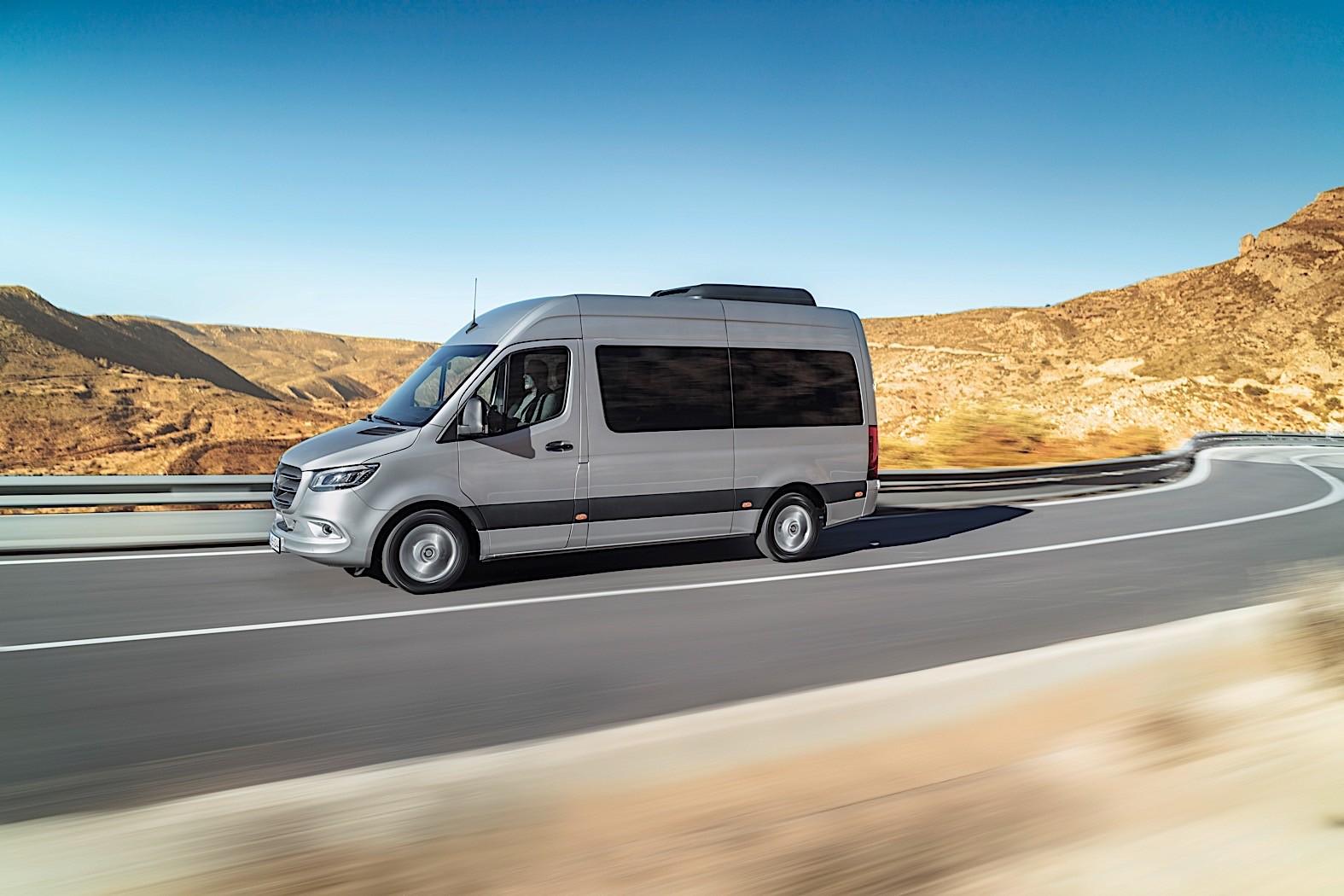 Yeni Sprinter 2018 >> Mercedes-Benz Sprinter-based RV Reviewed by AutoBlog - autoevolution