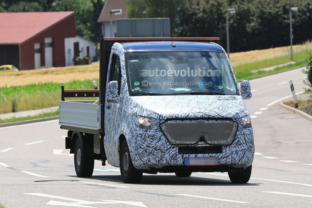 2018 Mercedes Benz Sprinter Spied Testing In Winter Conditions We