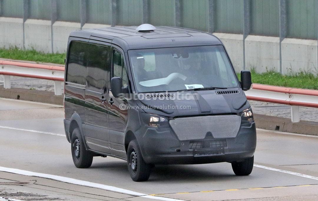 2018 Mercedes-Benz Sprinter Van Looks More Like a Larger V ...