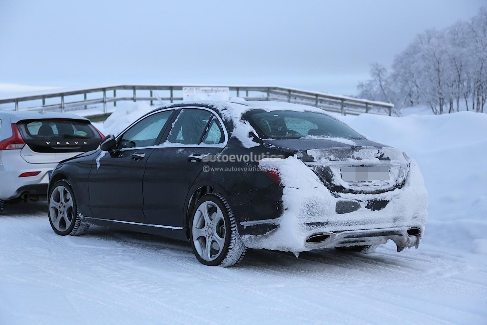 2018 Mercedes C-Class Facelift Interior Spyshots: S-Class ...